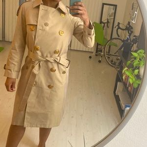 Burberry tench coat tan/beige